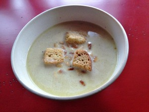 Accidental Locavore Celery Root Soup
