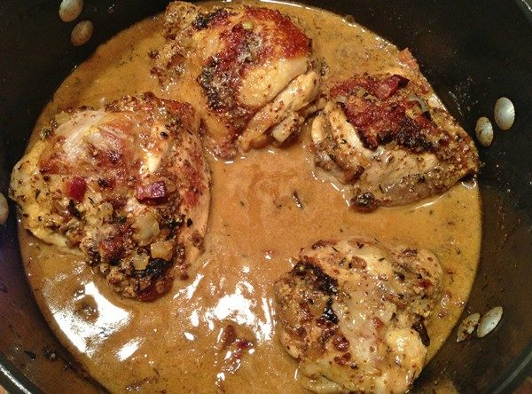 Accidental Locavore Mustard Chicken