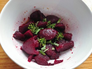 Accidental Locavore Crushed Beets