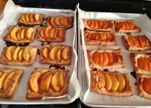Accidental Locavore Peach and Apricot Tarts