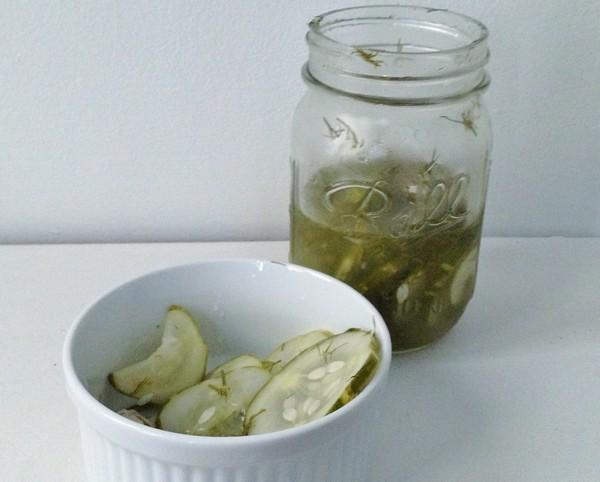 Accidental Locavore Quick Pickles