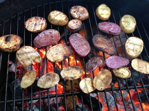 Accidental Locavore Grilled Potatoes
