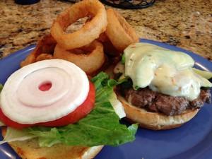 Accidental Locavore Noshis Burger