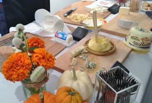 Accidental Locavore Cheese Tasting Table