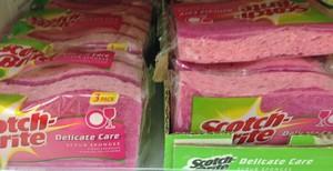 Accidental Locavore Pink Sponges