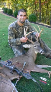 Accidental Locavore Hunter With Buck