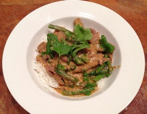 Accidental Locavore Lamb Shanks in Thai Curry