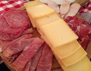Accidental Locavore Raclette and Charcuterie