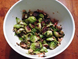 Accidental Locavore Asian Brussels Sprouts