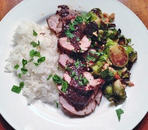 Accidental Locavore Pork With Brussels Sprouts