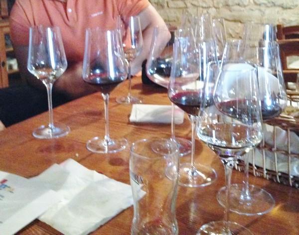 Accidental Locavore Wine Glasses