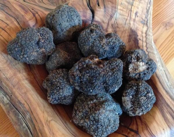 Accidental Locavore Plate of Black Truffles