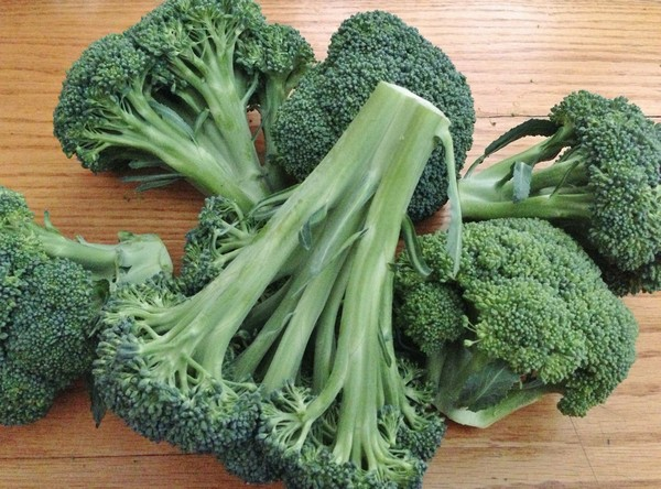 Accidental Locavore Broccoli Stems