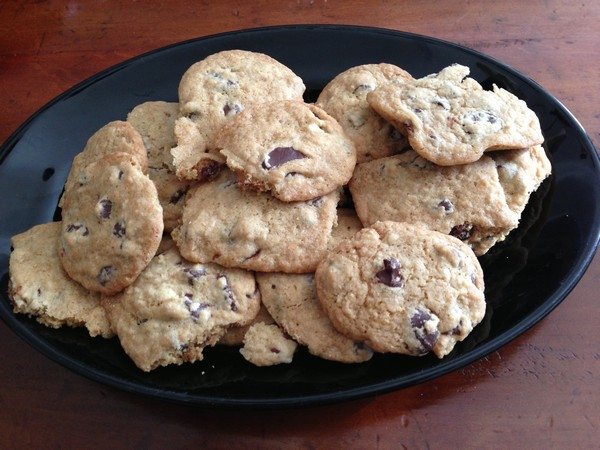 Accidental Locavore Chocolate Chip Cookies II