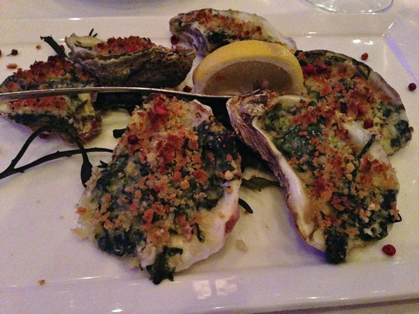 Accidental Locavore Oysters Rockefeller