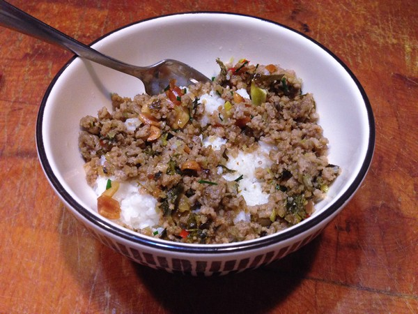 Accidental Locavore Broken Rice With Pork