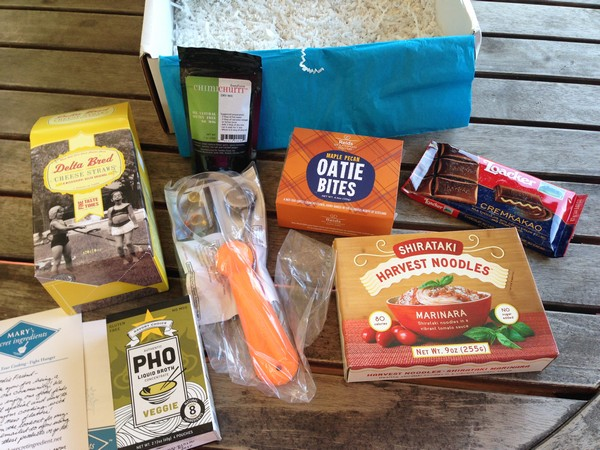 Accidental Locavore Mary's Spring Box