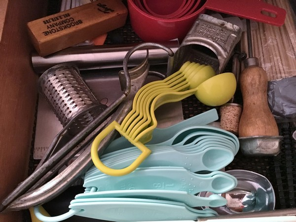 Accidental Locavore Utensil Drawer