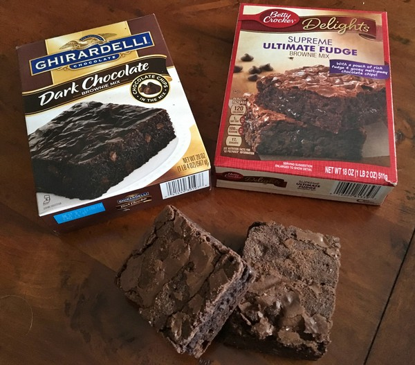 Accidental Locavore Brownie Mixes