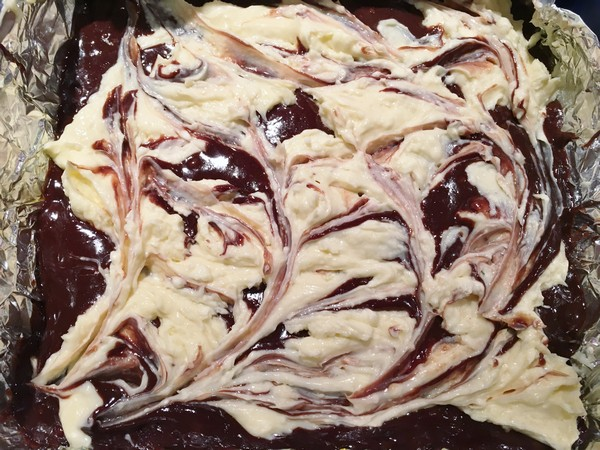 Accidental Locavore Cheesecake Brownies Swirl