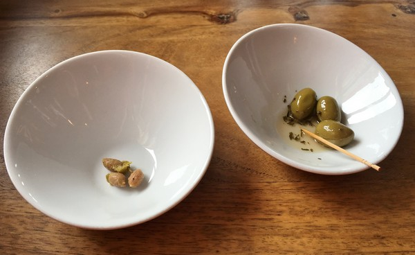 Accidental Locavore Green Olives and Pits