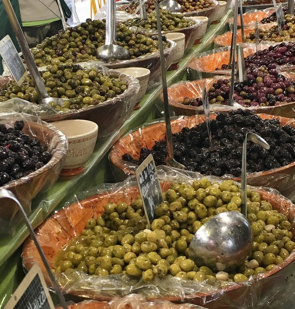 Accidental Locavore Olives Antibes