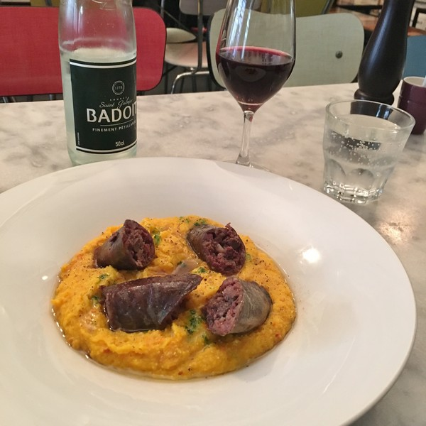 Accidental Locavore Sausage and Polenta