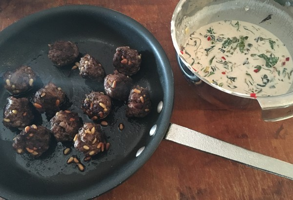 Locavore Nopi Meatballs With Sauce