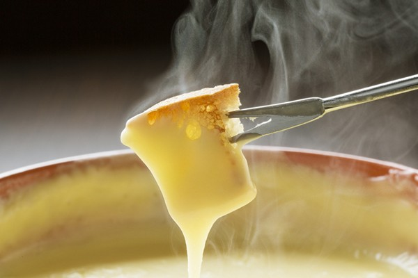 Accidental Locavore Fondue Fork and Cheese
