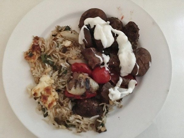 Accidental Locavore Lamb Kebabs With Baked Rice