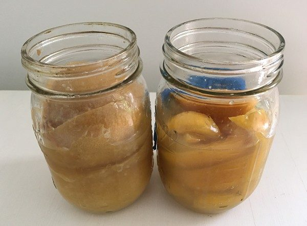 Accidental Locavore Two Jars of Preserved Lemons