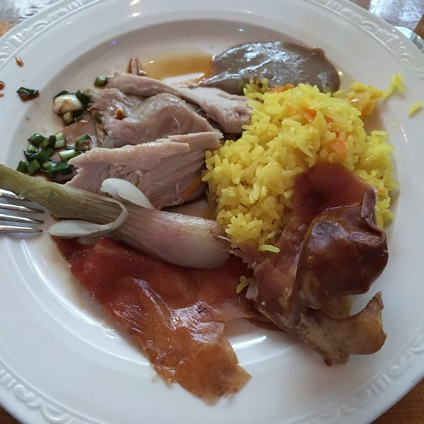 Accidental Locavore A Plate of Lechon