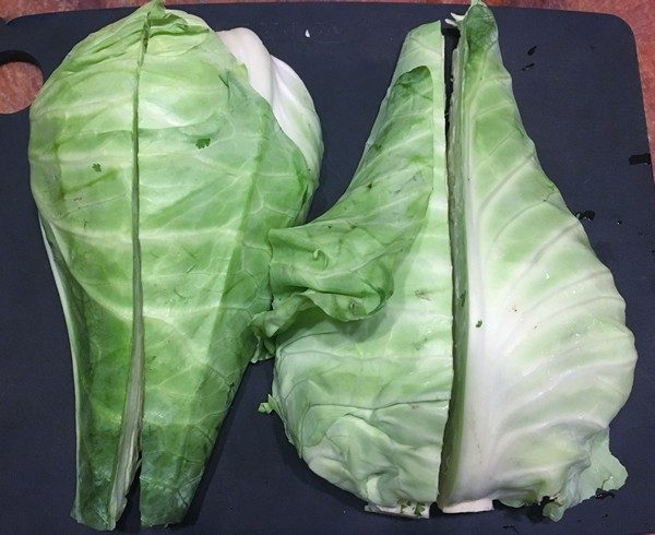 Accidental Locavore Cabbage Wedges