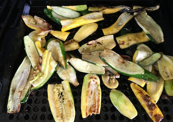 Accidental Locavore Grilled Summer Squash