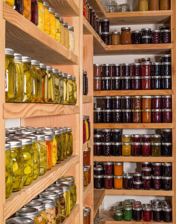Accidental Locavore Kitchen Pantry