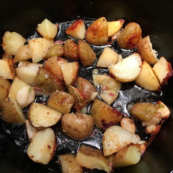 Accidental Locavore Roasting Potatoes