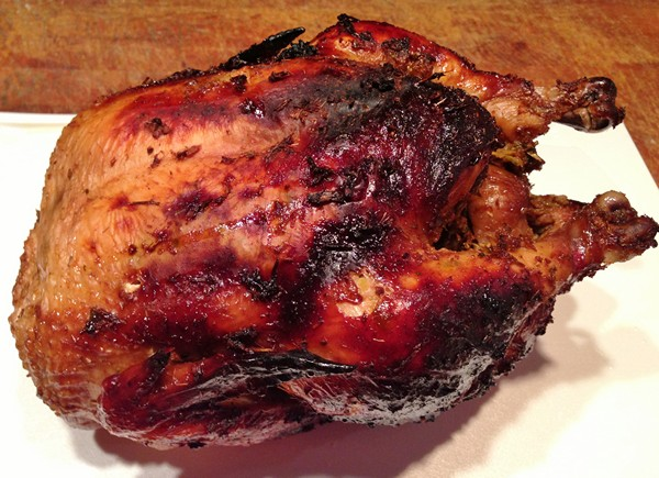 Accidental Locavore Roasting Thai Chicken