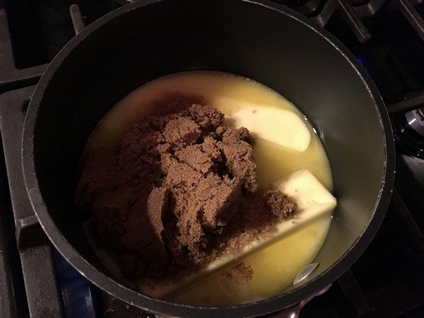 Accidental Locavore Butter for Toffee Crack