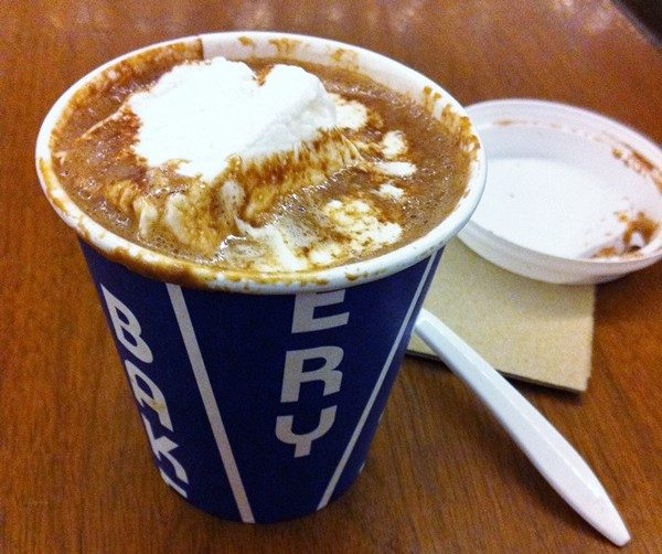 Accidental Locavore City Bakery Hot Chocolate
