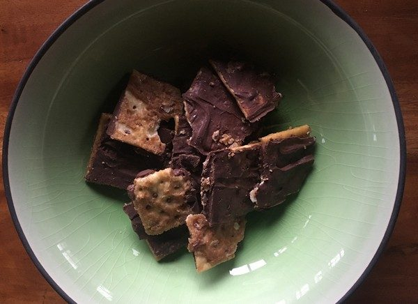 Accidental Locavore Toffee Crack