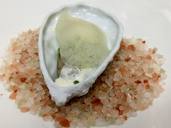 Accidental Locavore Mohonk Mountain House Oyster