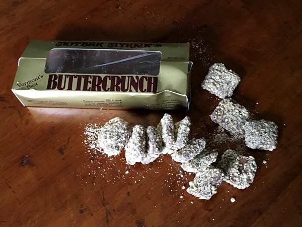 Accidental Locavore Buttercrunch