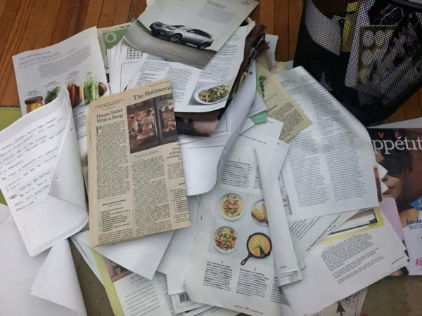 Accidental Locavore Recipe Files