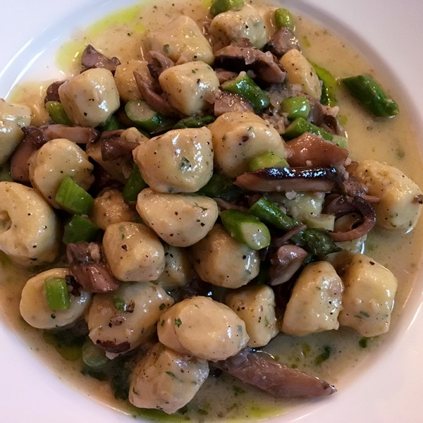 Accidental Locavore Gnocchi at the Amsterdam Restaurant
