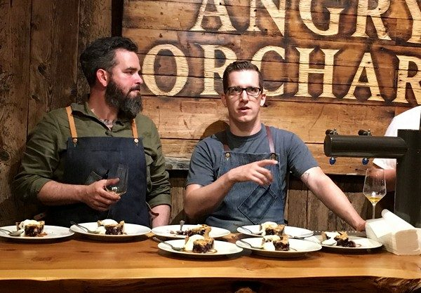 Angry Orchard Cider Chef and Dessert