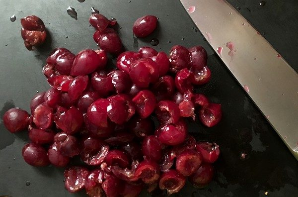 Accidental Locavore Cherries for Clafoutis