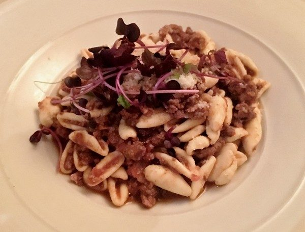 Accidental Locavore Cavatelli for Hudson Valley Restaurant Week