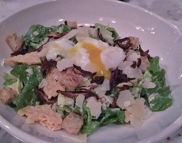 Accidental Locavore Silvia Restaurant Caesar Salad