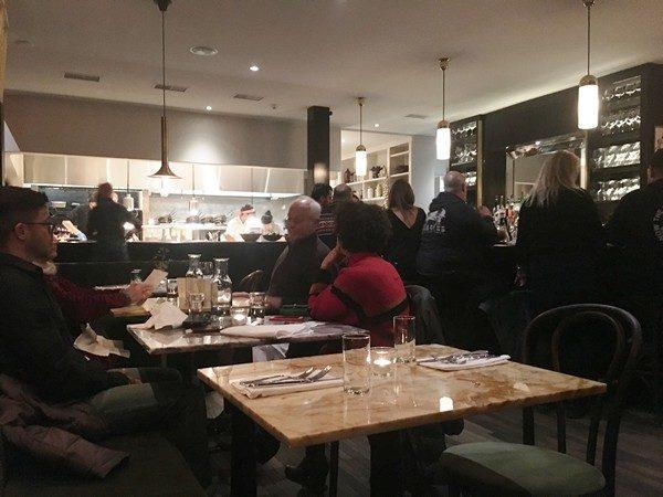 Accidental Locavore Silvia Restaurant Interior