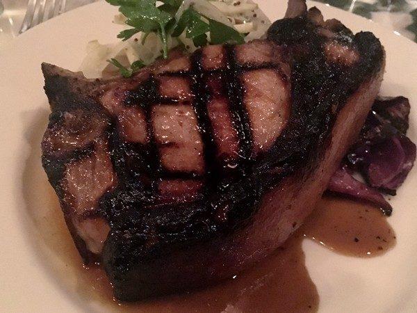 Accidental Locavore Silvia Restaurant Pork Chop